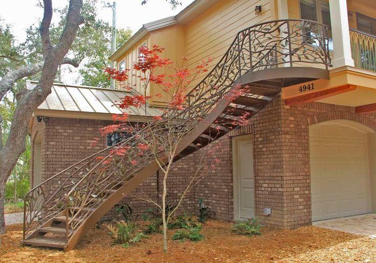 Tree Branch Railing Construction Process Railing