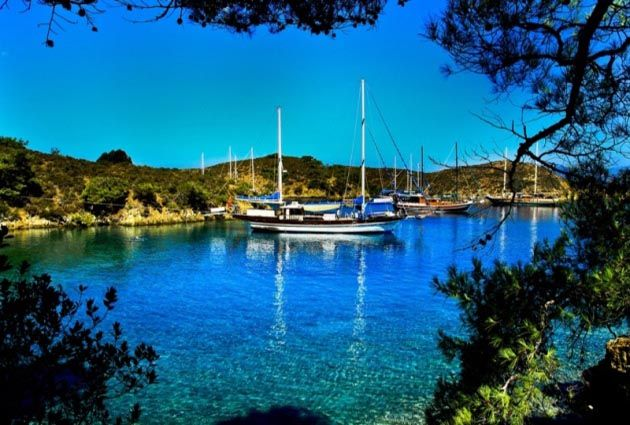 3.Day, Çatı, Seven Islands, private yacht rental, www.barbarosyachting.com