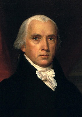 James Madison....4th President of the United States Of America