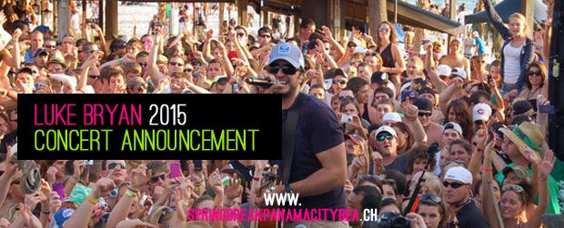 Luke Bryan has confirmed he will perform two free shows in Panama City Beach, Florida during Spring Break 2015. To see the dates and more click here... #lukebryan