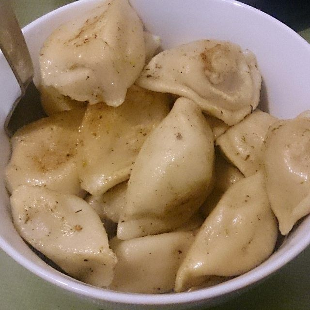 There's nothing better than #handmade #pelmeni after an #irishpub gig  by faltsternchen