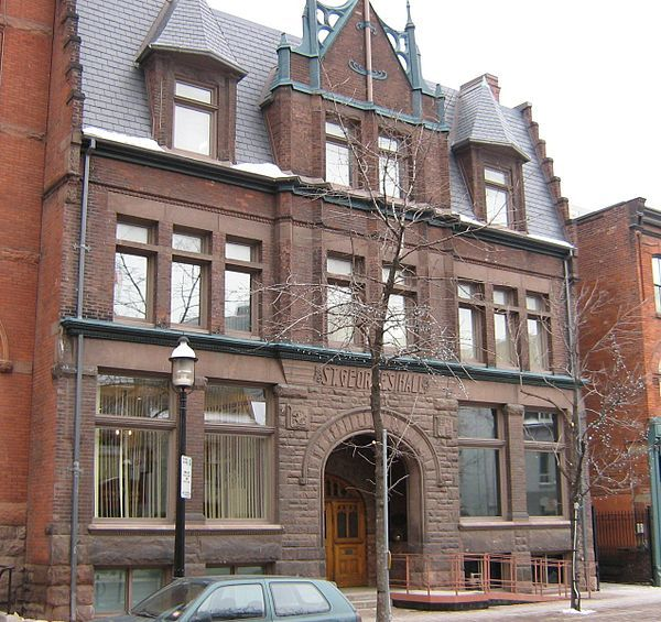 The Arts and Letters Club of Toronto (usually just called The Arts and Letters Club) is a private club in Toronto, Ontario which brings together writers, architects, musicians, painters, graphic artists, actors, and others working in or with a love of the arts.