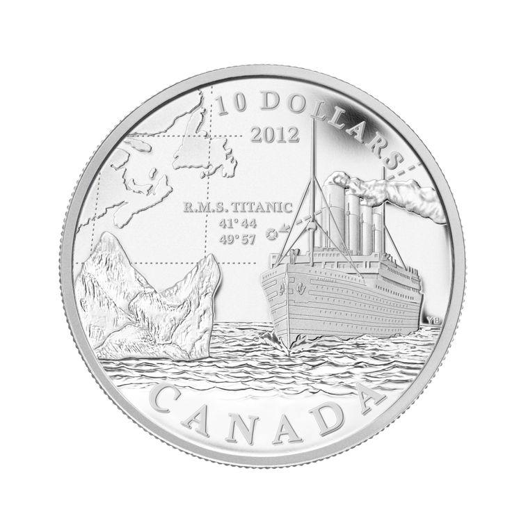 R.M.S. Titanic - Fine Silver Coin (2012)
