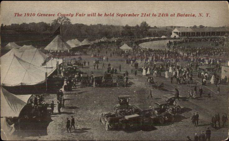 Batavia NY County Fair c1910