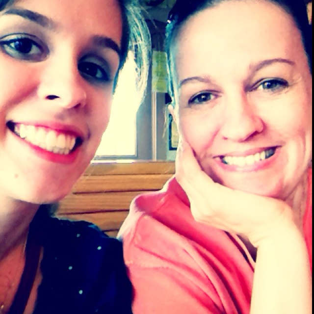 My mom is my best friend and she's pretty much awesome! :)