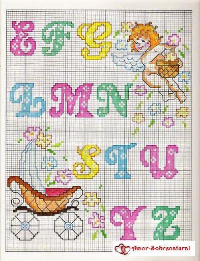 Gallery.ru / Фото #116 - PONTO CRUZ monograma, abc, letras - amor-sobrenatural