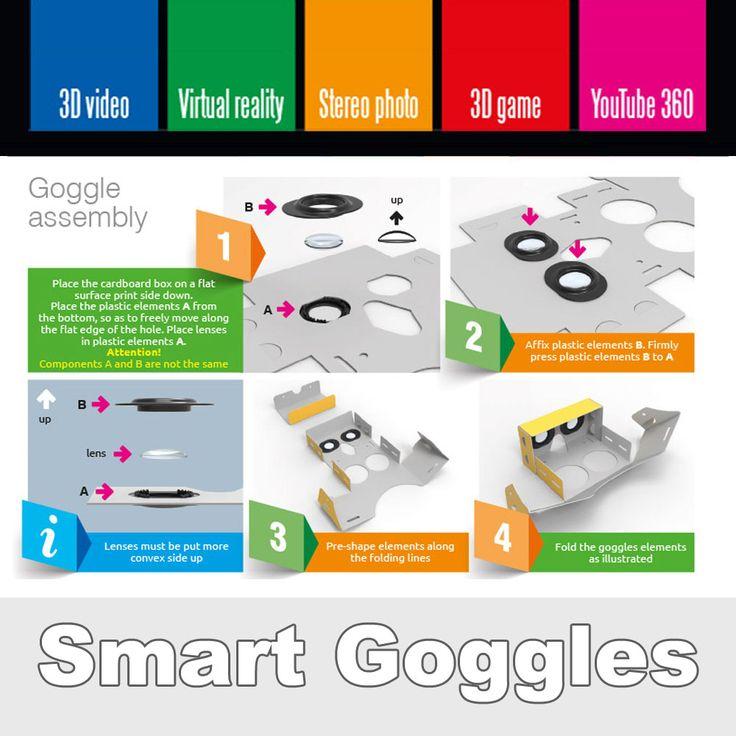 Smart Goggles Virtual Reality Augmented Reality  Cardboard VR AR Advertising Marketing  http://raster.eu/en-index.html