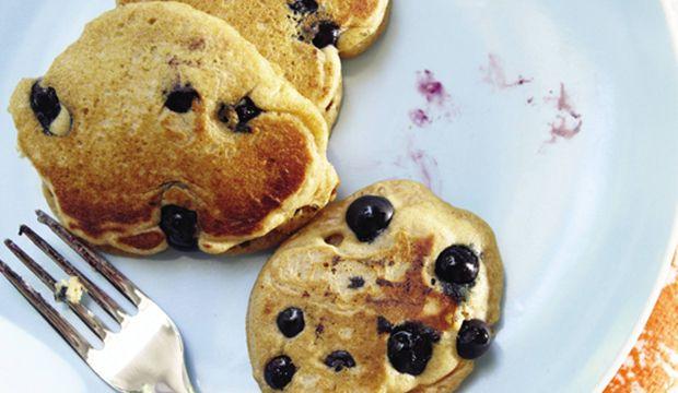 Blueberry Lemon Whole Wheat Pancakes | Food | Morning Delights | Pint ...