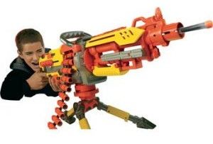 Imagine Yourself using a nerf machine gun: The Nerf Vulcan Havok Fire! Read this.