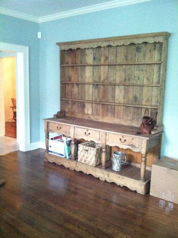 (5) Hometalk :: Farmhouse Chic Welsh Dresser Makeover
