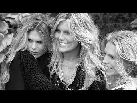 Patti Hansen, Theodora and Alexandra Richards – Like Mother, Like Daughters | PORTER Magazine - YouTube