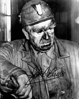 June 11, 1969:  Labor leader John L. Lewis dies.  Born in Cleveland, IA, in 1880 to Welsh immigrant parents, Lewis went to work as a miner when he was a teenager.  He worked as a mine workers' organizer for the American Federation of Labor (AFL) and went on to serve the president of the United Mine Workers of America for 40 years.  A firm believer in industrial unionism, Lewis formed the predecessor organization to what would become the Congress of Industrial Organizations (CIO).
