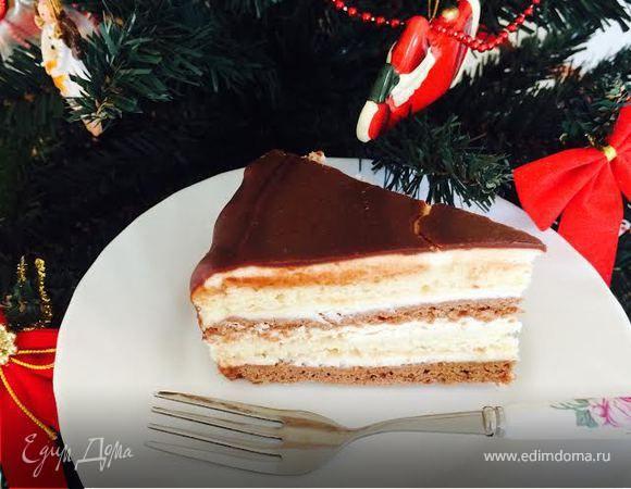 Пирожное «Нежность» — любимое пирожное из моего детства. Сейчас его так же любит мой сын. В этот раз пекла его в виде торта на День рождения моего сына, который был 7 января, нам исполнилось 13 лет...