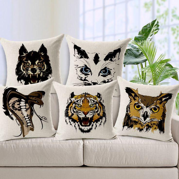 Animal Print Body Pillow Case