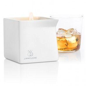 Fem dufter fra Jimmy Jane. http://www.esensual.no/afterglow-massage-candle/ Praktisk helletut i denne stilige massasjelysbeholderen.