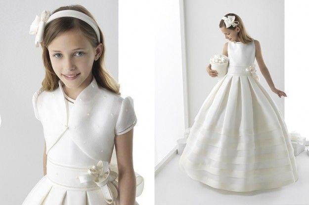Vestidos Primera Comunión 2014: Fotos colección Rosa Clará First