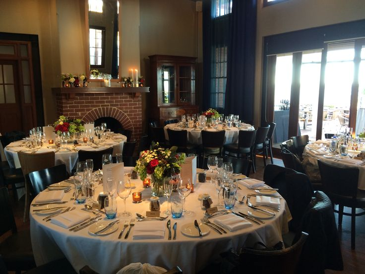 Intimate dinner in the Wine Room
