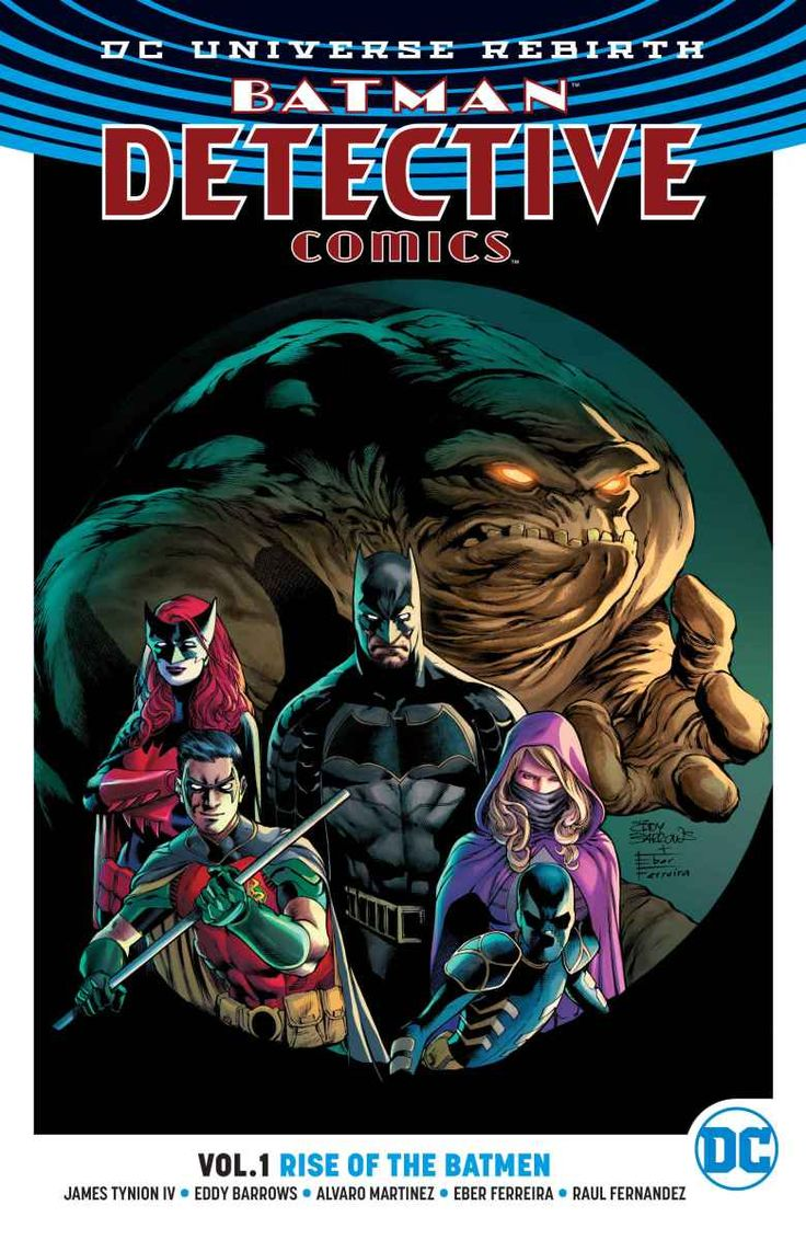 Review: Batman: Detectiveics Vol 1 Rise Of The Batmen