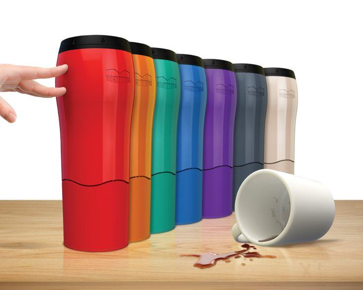 Кружка-термос-непроливайка для неуклюжих Mighty Mug
