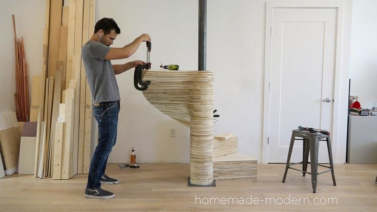 HomeMade Modern DIY EP99 DIY CNC Spiral Staircase