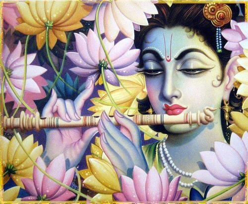 Hare Krishna - I think the art in the Krishna religion is beautiful!