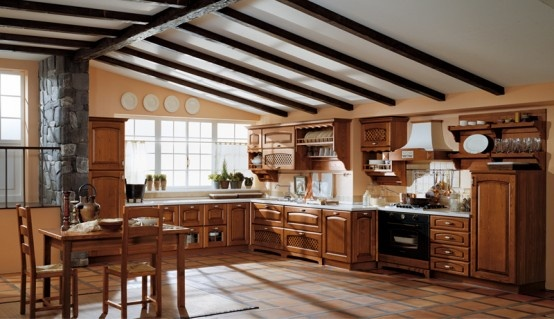 Classic Kitchen Cabinet Designs from Ala Cucine
