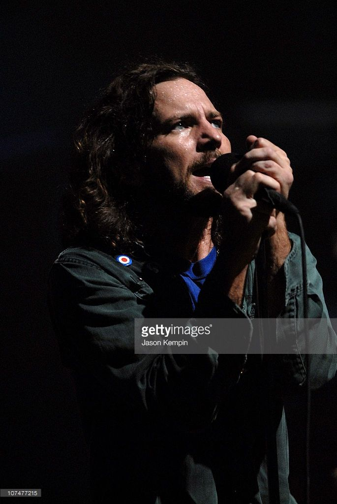 Eddie Vedder of Pearl Jam during 'VH1 Storytellers' Featuring Pearl Jam at Avalon in New York City, New York, United States.