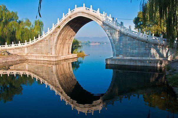 Лунный мост — это выгнутый пешеходный мостик в виде полумесяца. Такие мосты типичны для садов Китая и Японии. Классический пример — Мост нефритового пояса в Пекине (Юйдайцяо). Также из-за формы его называют Мостом верблюжьего горба.  Мост нефритового пояса был сооружен в 18 веке в Пекине на территории бывшего Летнего императорского дворца. Форма арки была выбрана с расчетом, чтобы под лунным мостом могла проходить императорская лодка-дракон, на которой отправлялись в путешествие император и…