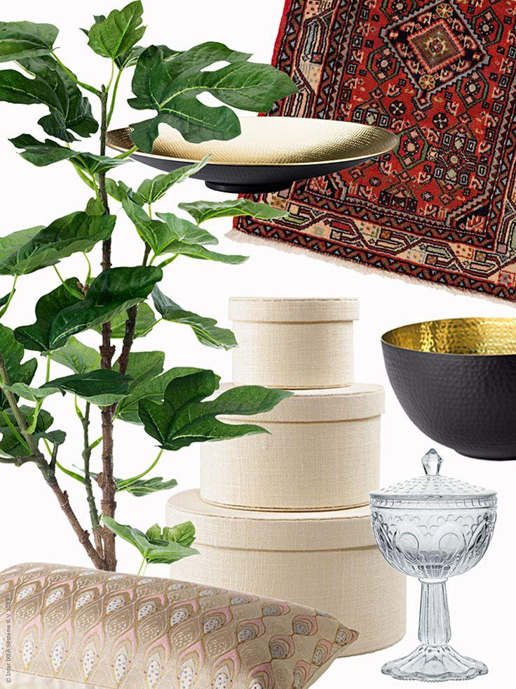 Nischer, vrår och skrymslen, eller utrymmen med potential? Varför inte utnyttja oanvända kvadratmetrar och skapa ett mysigt mellanrum! En variant är detta prång som fått ta smak av Marocko.