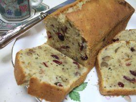 「クランベリーパウンドケーキ」さゆり | お菓子・パンのレシピや作り方【corecle*コレクル】