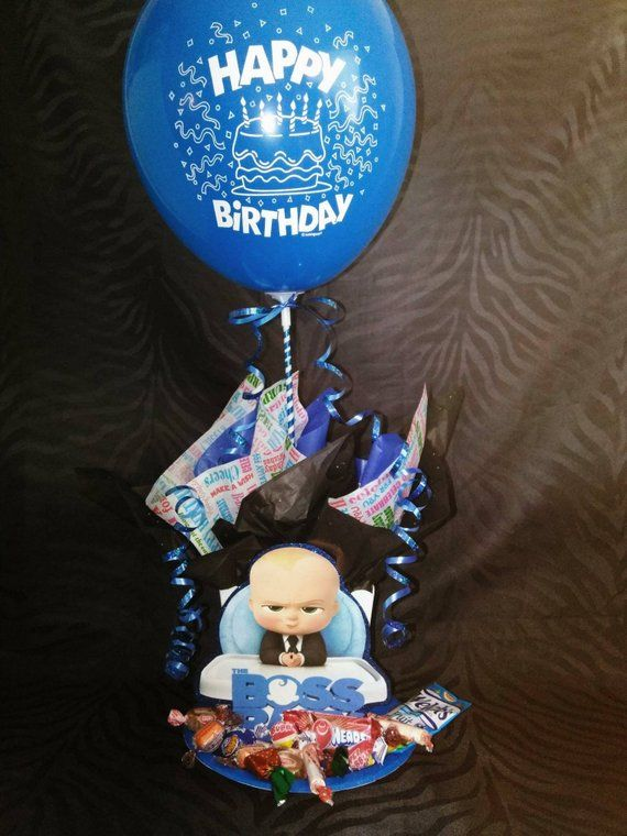 Boss Baby Centerpiece Etsy 1st Birthday Centerpieces