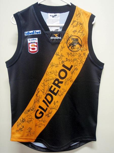Glenelg Football Club. The mighty Tigers