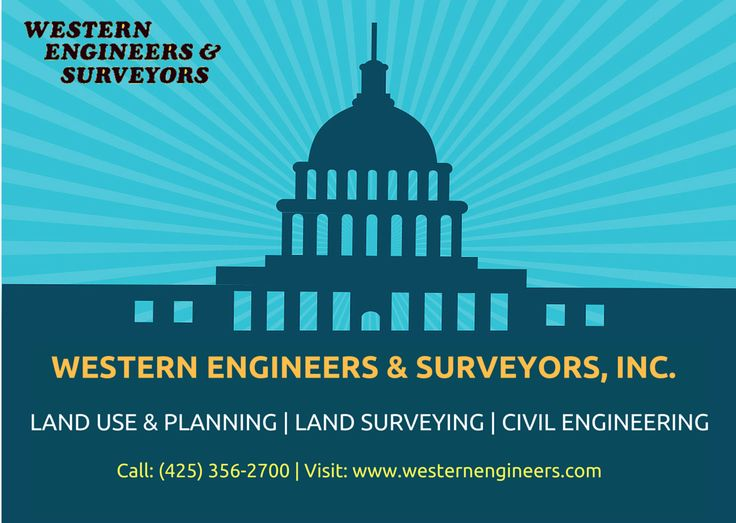 Perform land services with flexible survey experts  Welcome to Western Engineers & Surveyors Inc. Experienced land surveying firm. Our staff of professionals and licensed land surveyors is equipped to perform all types of land surveys accurately and efficiently.For more info call: (425) 356-2700 Visit: http://westernengineers.com