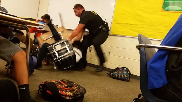 As the shock of an act of police brutality inside a US high school subsides, anger is mounting in its place, with the public wondering why the officer involved was not sacked on the spot.
