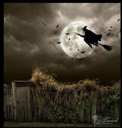 Cute French Canadian Halloween song I taught when teaching the kids of Canadians at NORAD: As-tu vu dans la rue, La sorcière toute bossue, Son balai sous les jambes, Elle volait vers la lune, Elle cria : Rouille, Gribouille ! Me changea en citrouille (Have you seen in the street, the witch, all hunched over, her broom between her legs, she was flying towards the moon, she cried out, Rouille Gribouille, (and) turned me into a pumpkin!)