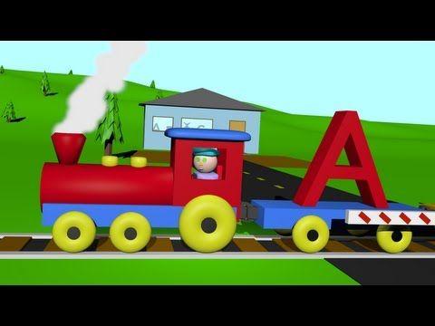 An Alphabet Train (2 minutes, 5 seconds)