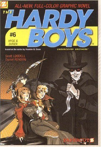 Introducing Hyde  Shriek Hardy Boys Graphic Novels Undercover Brothers 6 v 6. Buy Your Books Here and follow us for more updates!