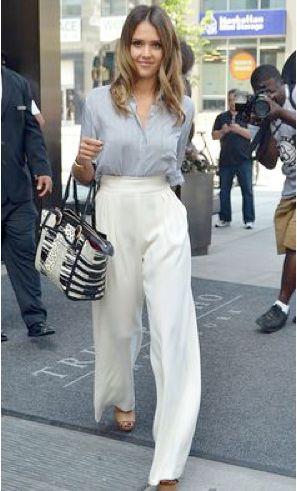 Pantalones anchos, uno de los trends más importantes para esta siguiente temporada