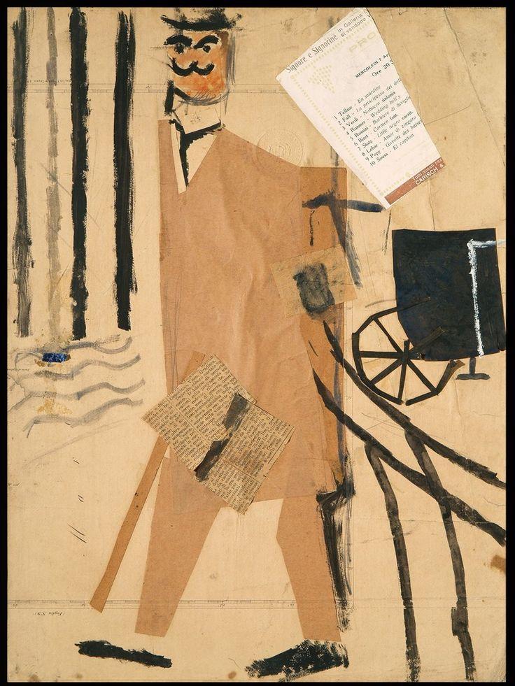 Il Borghese, 1914 - Mario Sironi