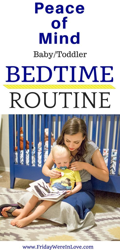 Peace of Mind Baby/Toddler Bedtime Routine that helps baby get more sleep and parents get more sleep too!   Baby sleep training   baby bedtime  #monbaby #ad