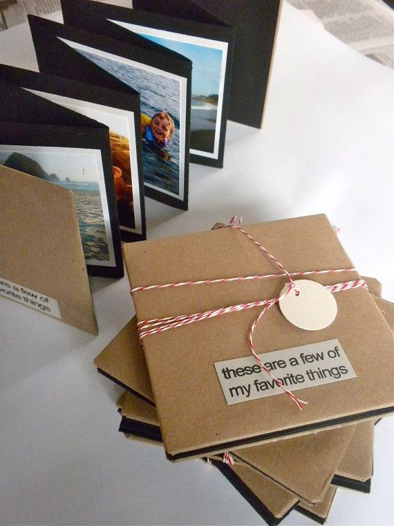 4 x 4 concertina photo book by kimbeehive on Etsy