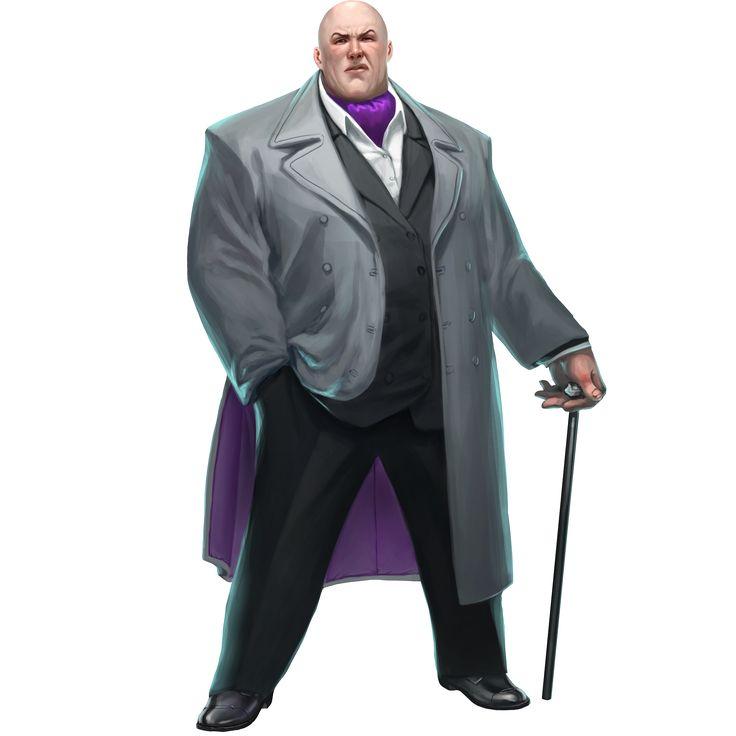 Kingpin looks like the Benefactor.