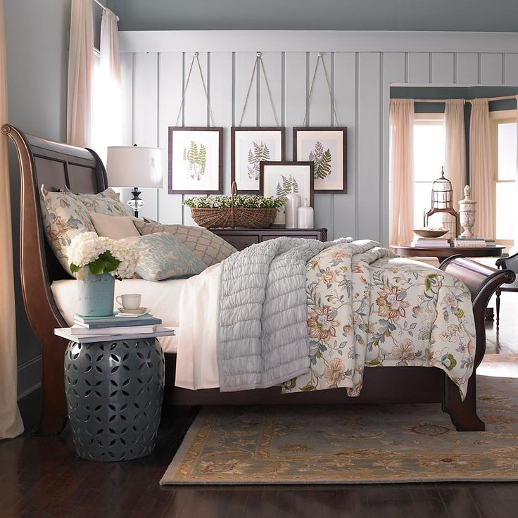 Moultrie Park Sleigh Bed. Can't decide between sleigh or upolsetured