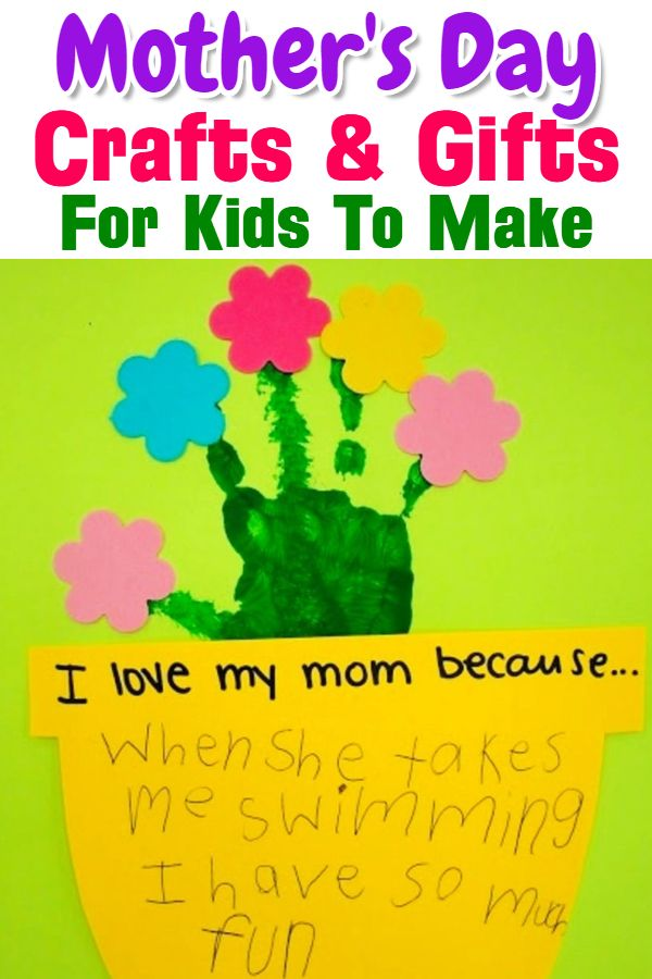 Easy Diy Gifts For Mom From Kids In 2019 Diy Gifts For Mom Diy