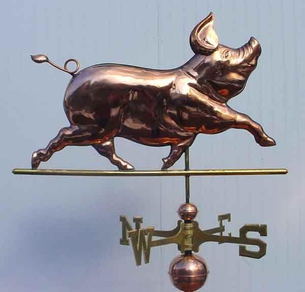 Custom Copper Weathervanes | weathervanes, weathervanes and cupolas, custom weathervanes, copper ...