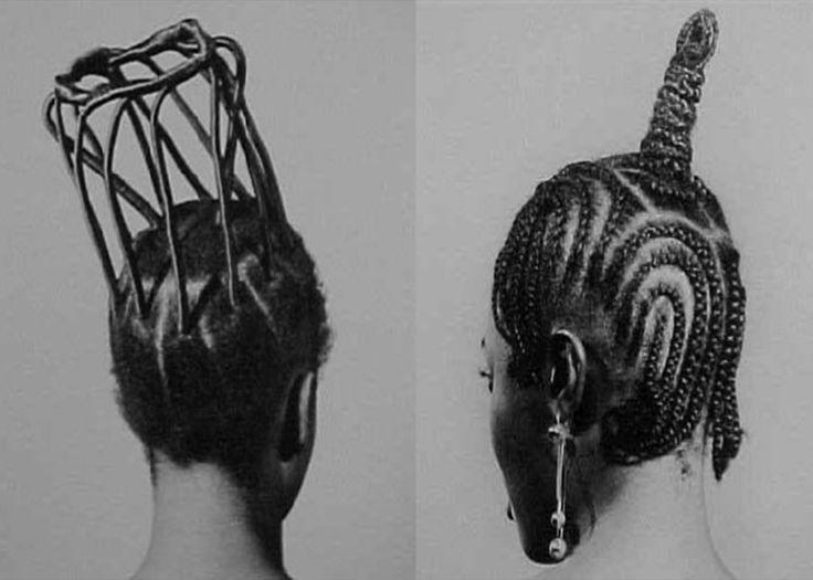 Okhai Ojeikere (photo): Nigerian hairstyles - Rare historical records of tribal fashion - Album on Imgur