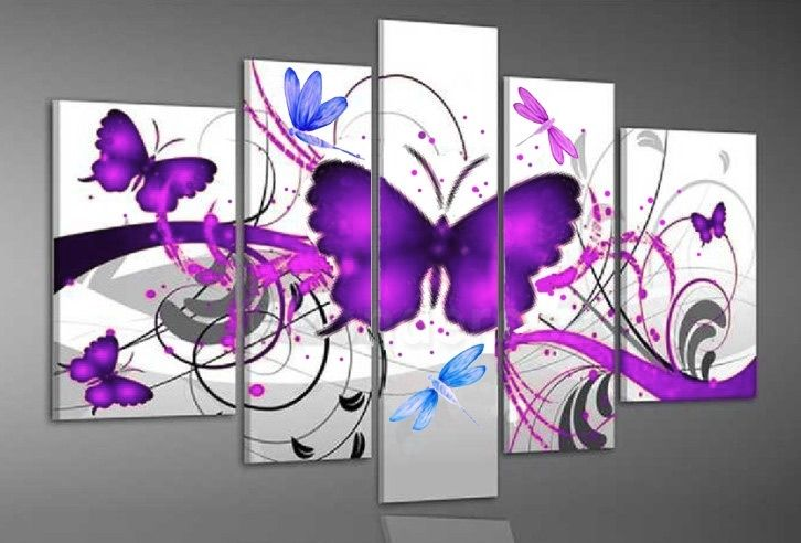 Amazing abstract art of butterfly, Price: $389.00, Shipping: Free Shipping, Size of Parts: 30cm x 50cm x 2 panels + 25cm x 70cm x 2 panels + 25cm x 80cm x 1 panel, Total Size (W x H): 135cm x 80cm, Delivery: 14 - 21 Days, Framing: Framed & Ready to Hang! Call us on 1300 90 21 53 and talk to your friendly art customer service representative.  http://www.directartaustralia.com.au/