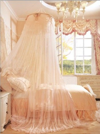 Soft Peach Girl's Bedroom