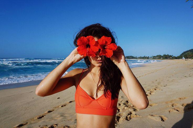 Mahina Alexander for D'Blanc  #sunglasses