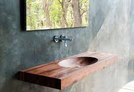 Resultado de imagen para lavamanos de madera